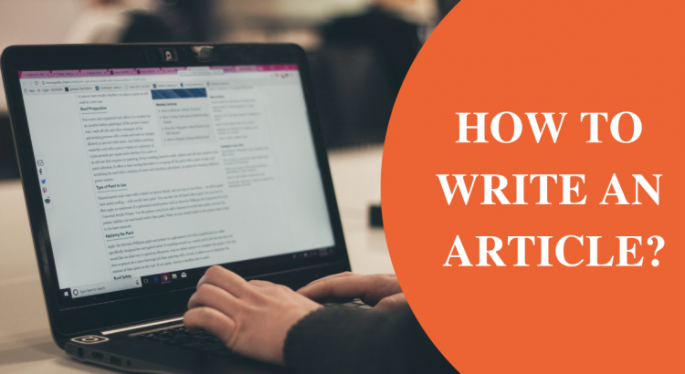 How to Write an Article_
